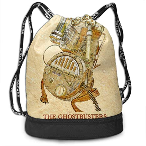 aa9f5a01f6a4 Amazon.com: Cheny Drawstring Backpack Love Ghostbusters Love ...