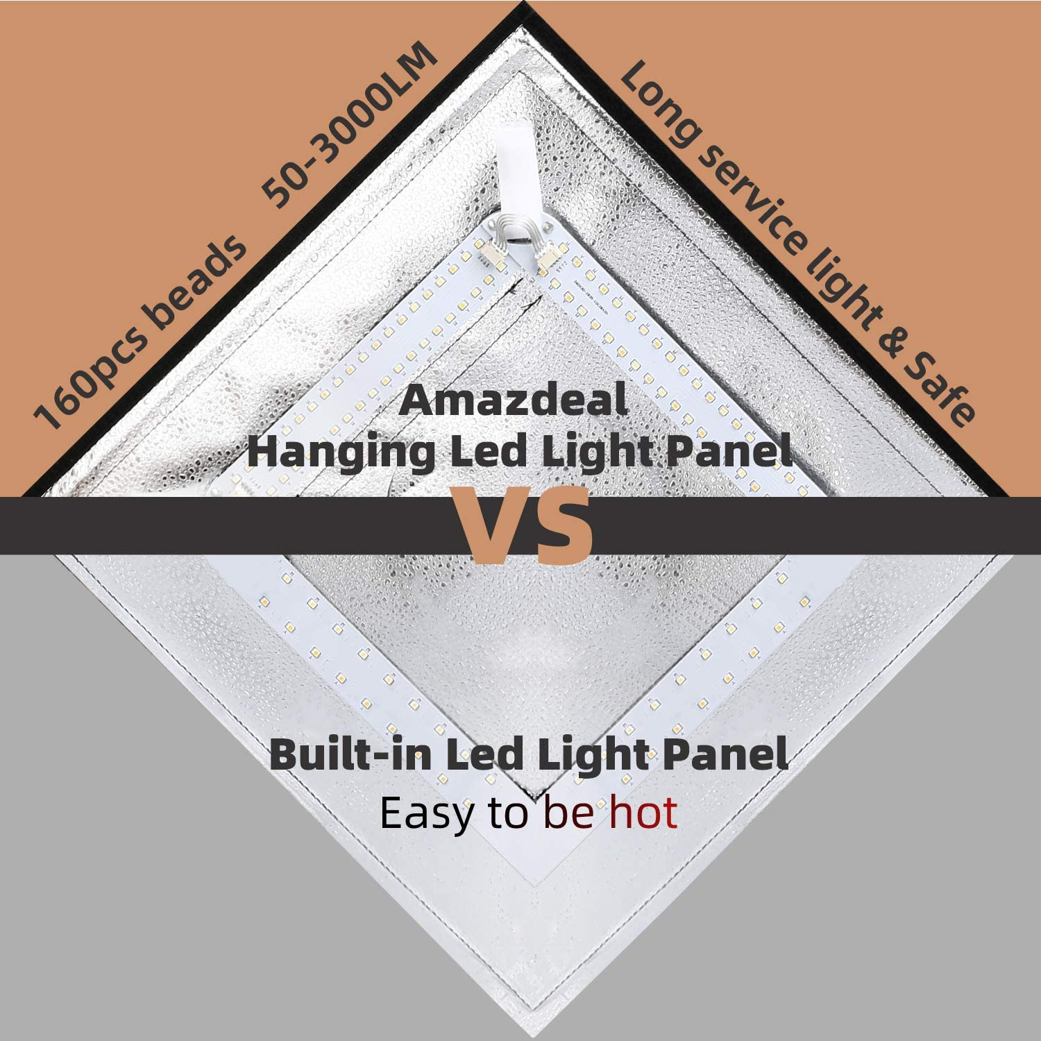 amzdeal Photo Studio Light Box Color Temperature Brightness Adjustable Foldable 16in Shooting Tent for Photography with 4 Colored Backdrops