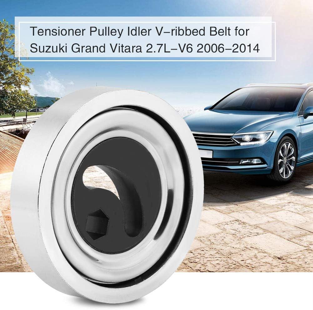 KIMISS Car Belt Tensioner Vribbed Pulley Belt Tensioner for 2.7L-V6 2006-2014