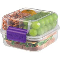 SnapLock by Progressive Lunch Cube to-Go Container, Purple