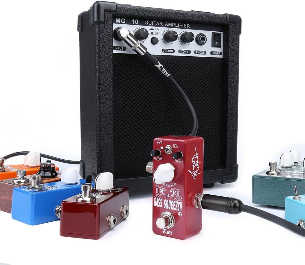 Xvive XB1 Bass Squeezer Compressor Micro Pedal