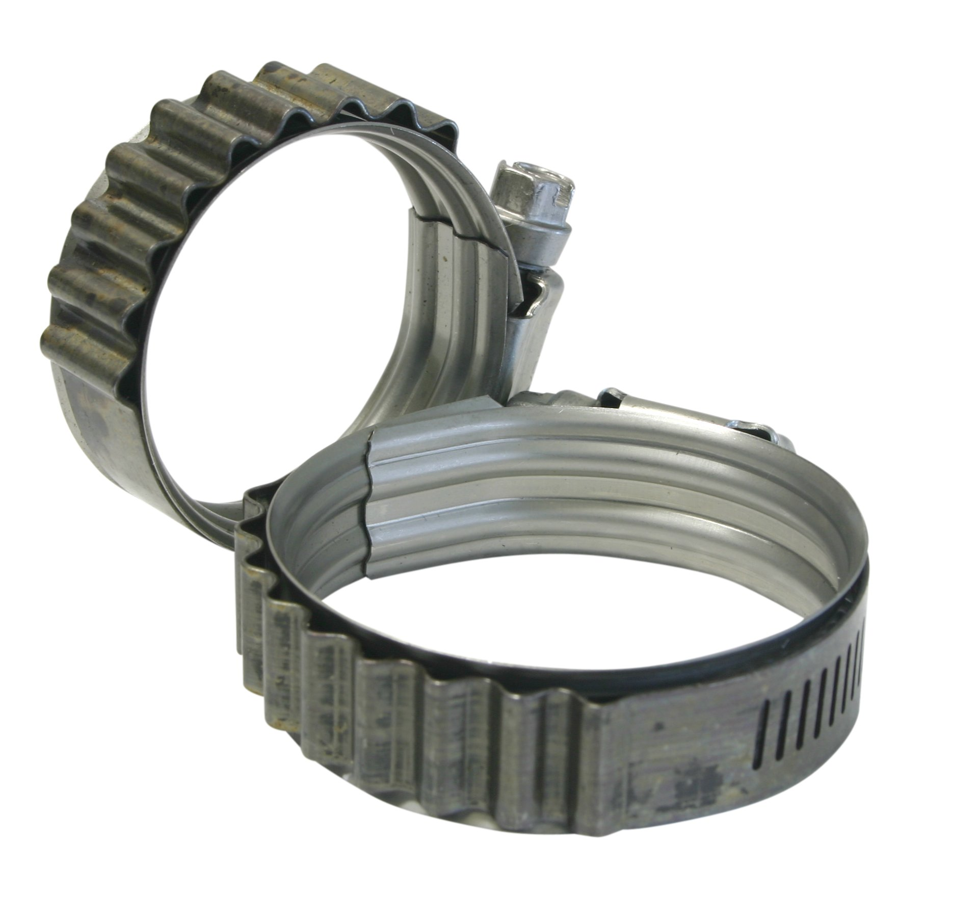 Turbosmart TS-HCT-M100 Stainless Steel Turbo Seal Tension Clamps 3.500 - 4.375''