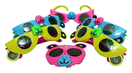 Colorful Foldable Sunglasses For Kids Birthday Party Return Gift Theme Party Return Gift By Bigmart Pack Of 12