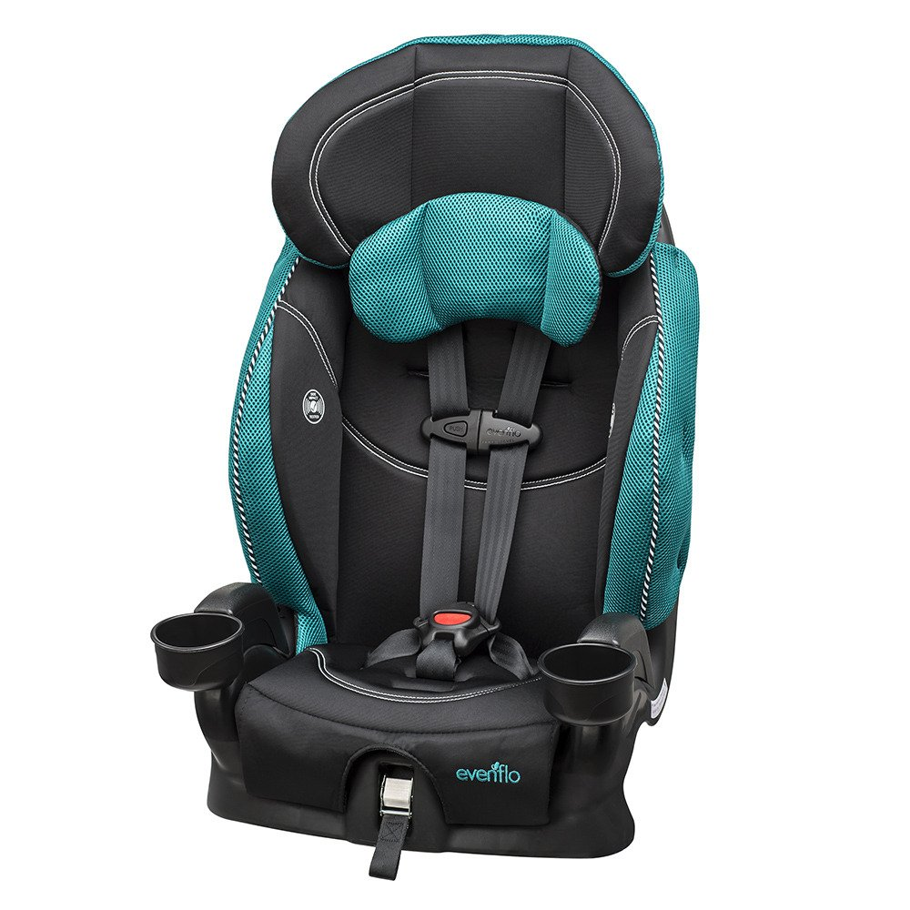 Evenflo Chase Lx Harnessed Booster Car Seat, Jasmin 30611730