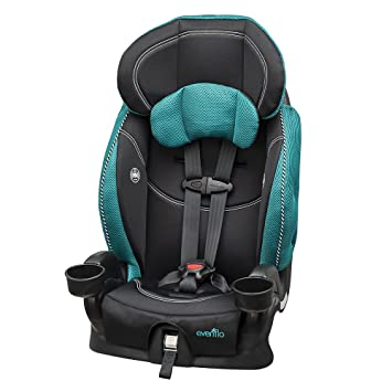 Evenflo Chase Lx Harnessed Booster Car Seat Asher