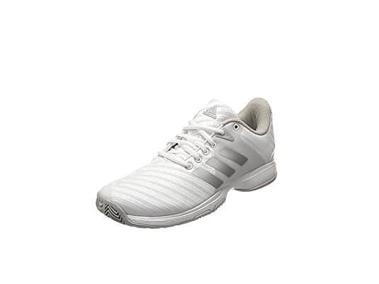adidas Damen Barricade Court Tennisschuhe, weiß, EU