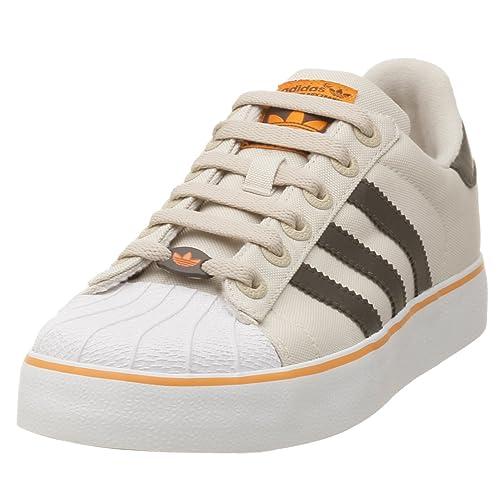 44ba4ea1d404c Adidas Originals Men's Superstar II Vulcanized Canvas Basketball Shoe
