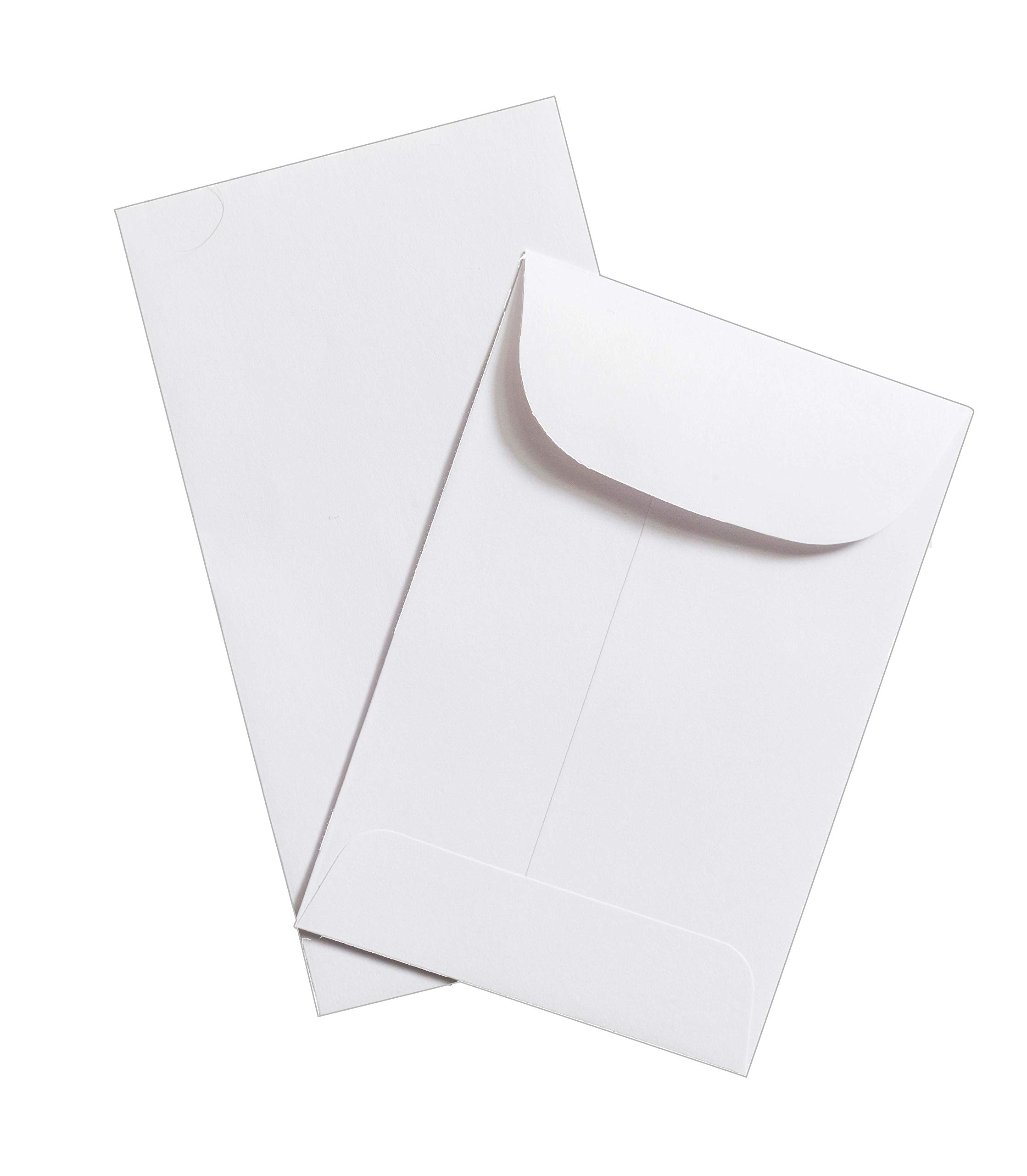 Guardian #1 Coin Envelopes, 2-1/4'' x 3-1/2'', White, 1000/Box by Guardian