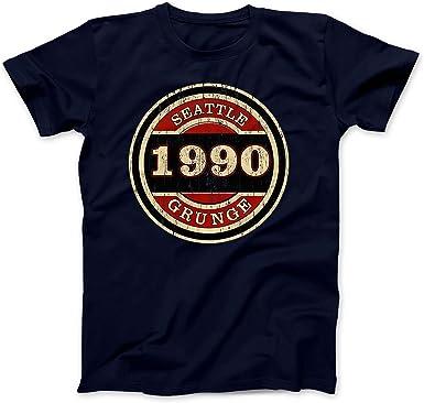 Bees Knees Tees Seattle Grunge 1990 Camiseta 100% Algodon: Amazon.es: Ropa y accesorios