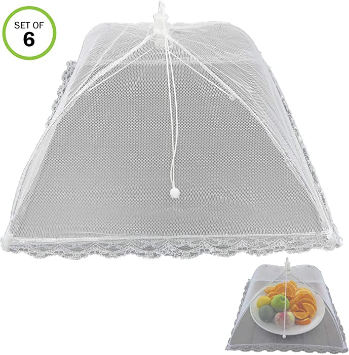 The Best Pop Up Food Covers Set Of 9