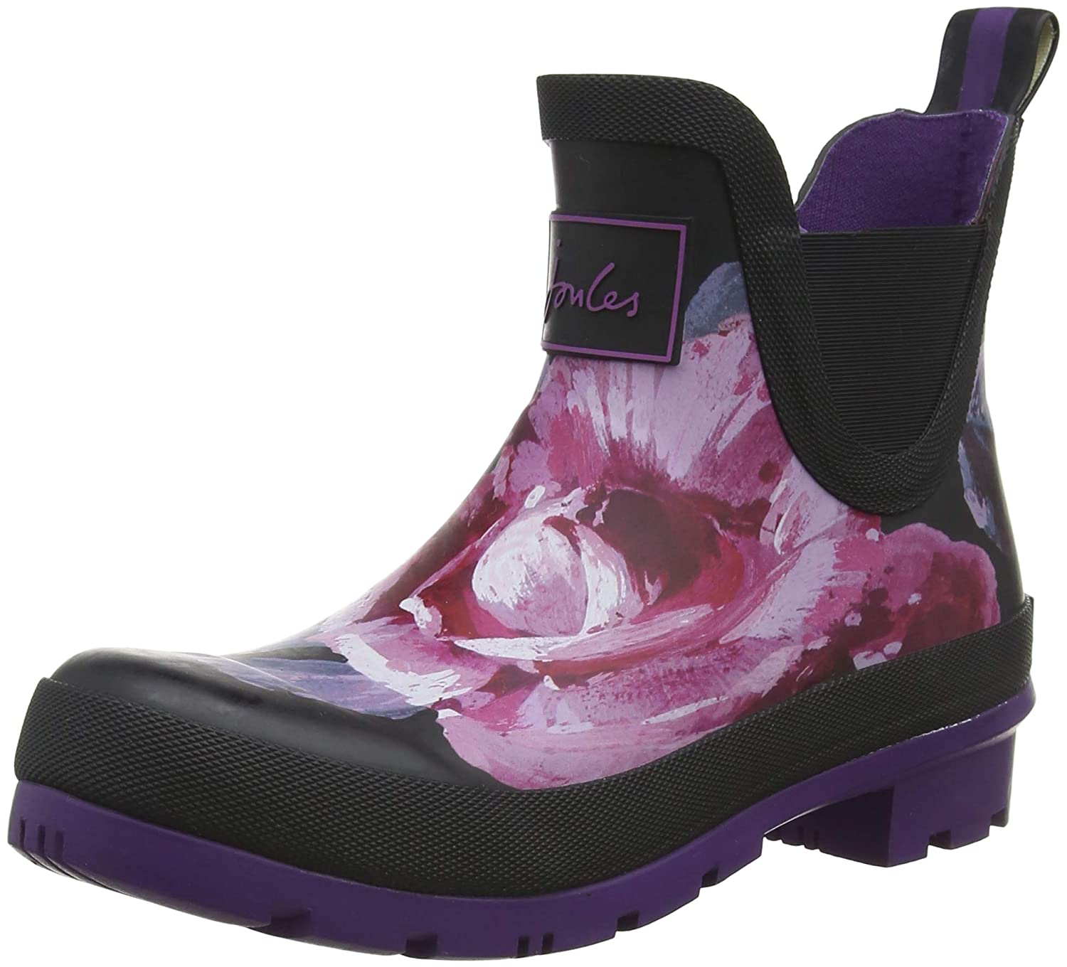 Joules Wellibob, Bottes Classiques Cheville Femme Noir Bottes (Black Femme Winter Classiques Floral Blkwtfl) a6b9cb1 - therethere.space