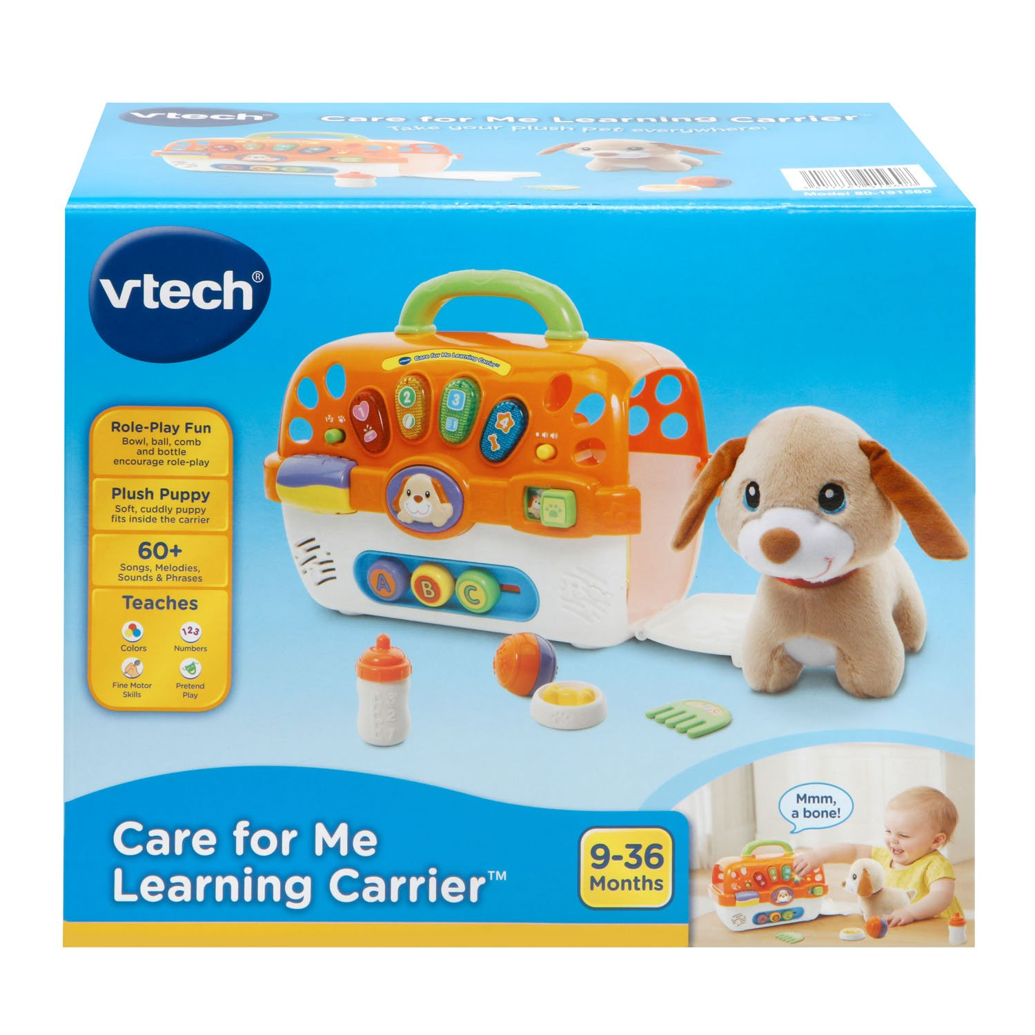 VTech Care for Me Learning Carrier Toy, Orange by VTech (Image #6)