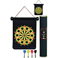 Protoner Magnectic Foldable Dart Board Two Sided 17 inches