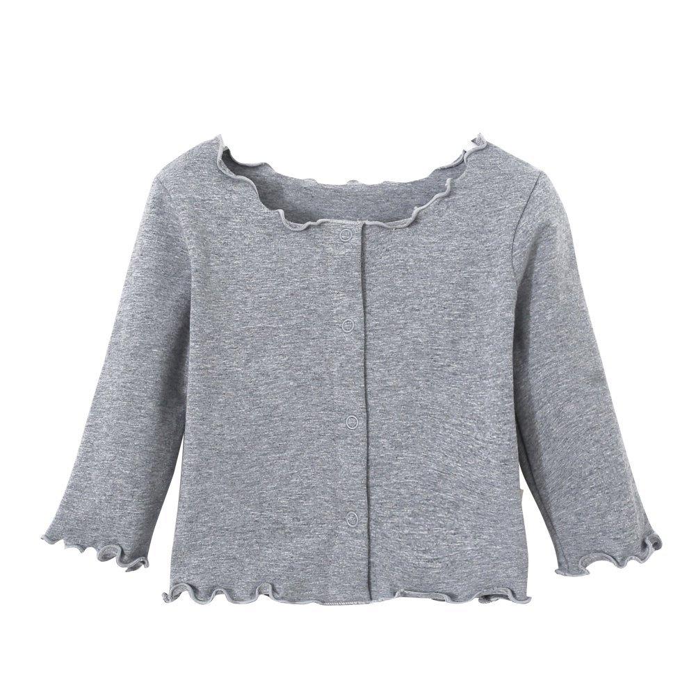 Hongyuangl Bambino Candy colore giacca primavera autunno cardigan cotone
