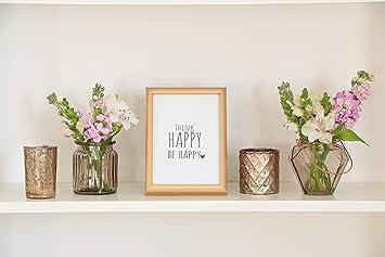Deine Herzstucke Windlicht Vase Set Bilderrahmen Deko Dekoration
