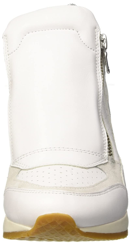 Geox Womens Nydame Sneaker B0767P9MKQ 37 M EU|White/Off White