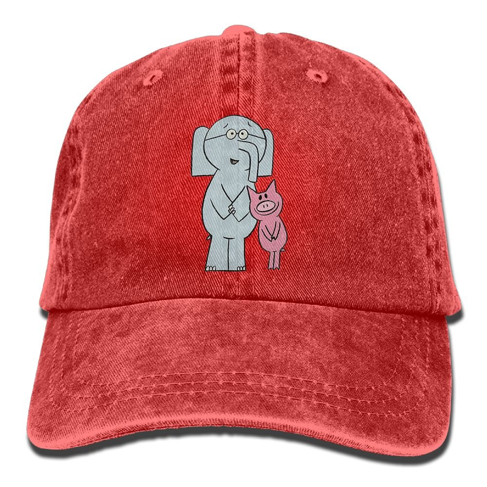 MNBHat Elephant and Piggie Book Snapback Cotton Hat