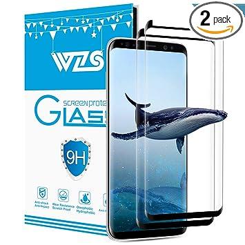 Amazon Com Samsung Galaxy S8 Plus Screen Protector 2 Pack Hd