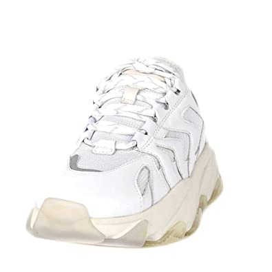 4c625495b68 Ash Extreme Trainers White Leather   Mesh  Amazon.co.uk  Shoes   Bags