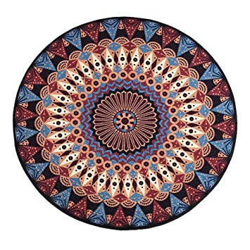 Amazon Com Wenyc National Wind Round Carpet Large Round Carpet