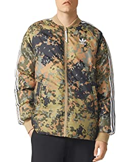 cdc214134607c adidas Originals Men's Pharrell Williams hu Hiking Reversible Camo SST  Jacket