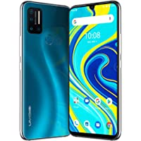 """UMIDIGI A7 Pro Unlocked Cell Phones(4GB+128GB) 6.3"""" FHD+ Full Screen, 4150mAh High Capacity Battery Smartphone with 16MP AI Quad Camera, Android 10 and Dual 4G Volte(Ocean Blue)"""