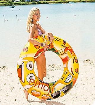 Divertido de baño anillo flotador (flotador (36102 Neumáticos Swim Ring 36102 Infla aprox.