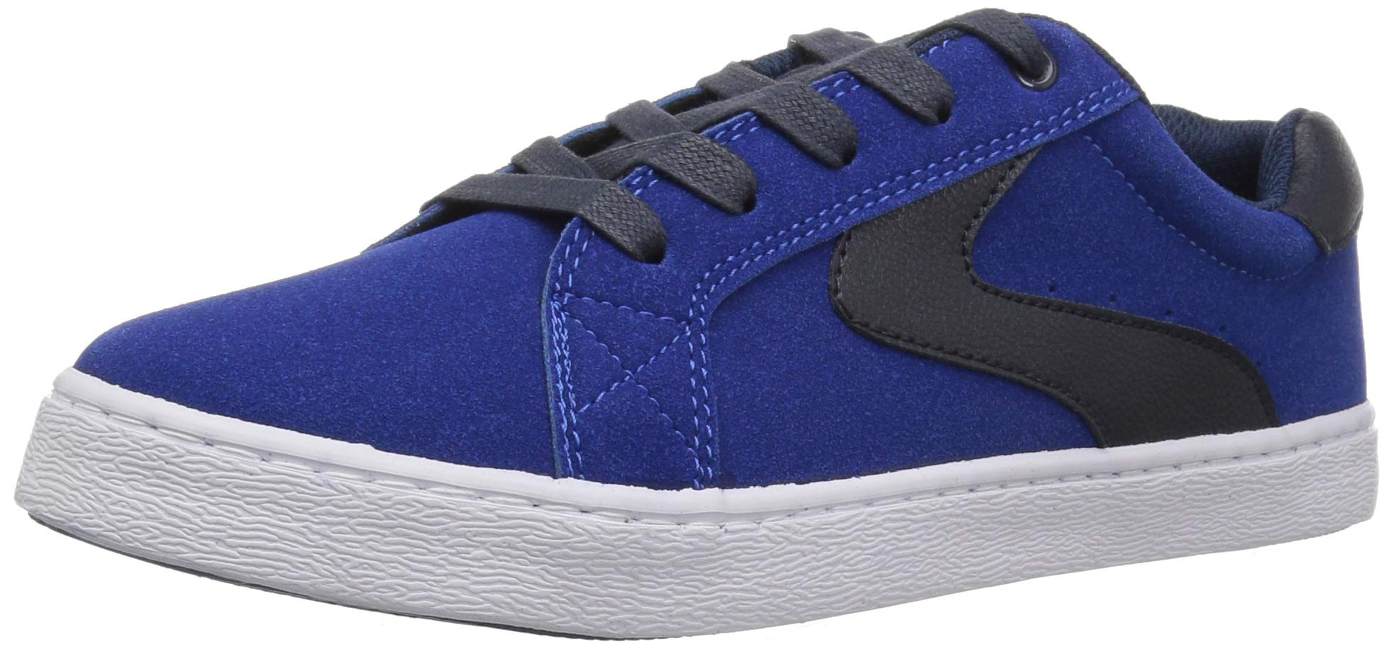 The Children's Place Boys' Low Top Sneaker, Mazarine Blue, Youth 11 Child US Little Kid