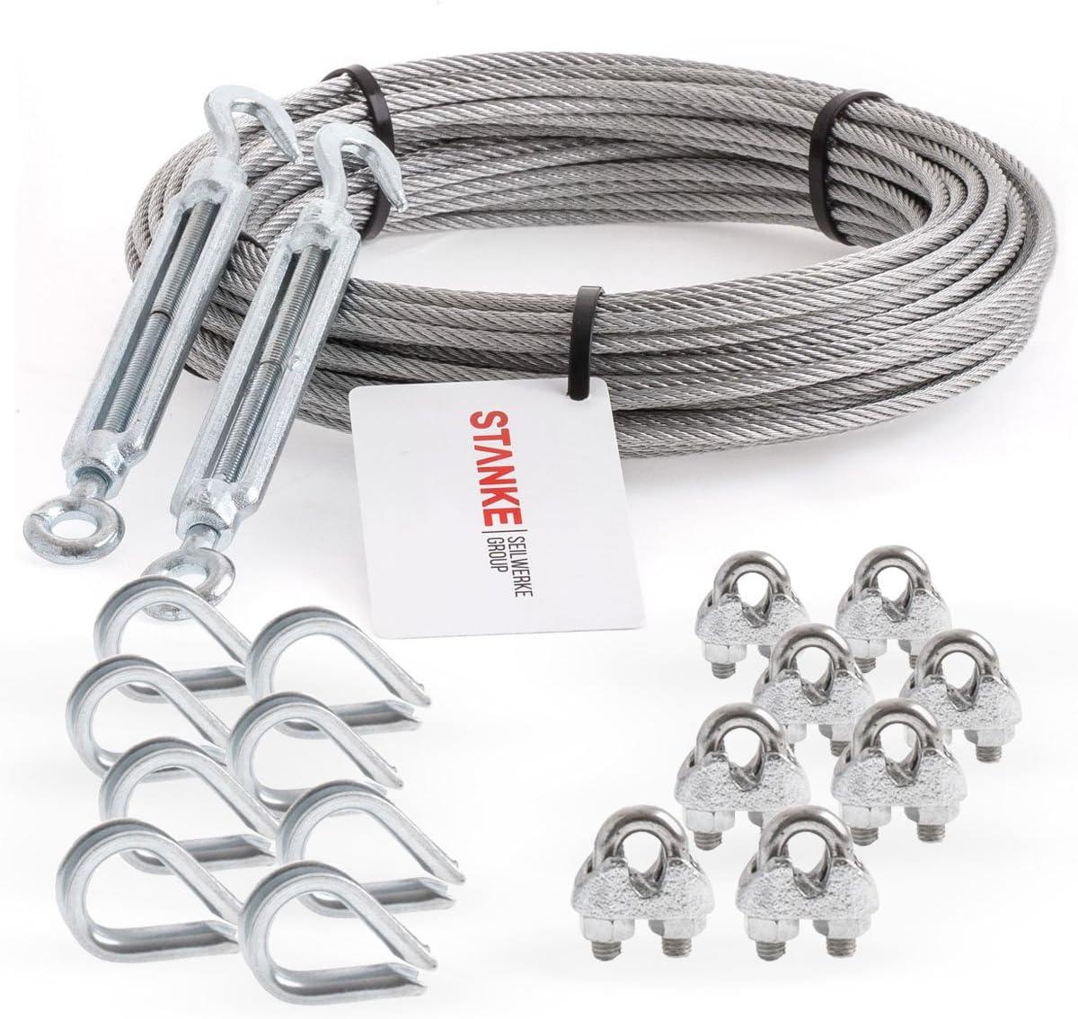 L/änge 200 cm SPR-07-200 Seilwerk STANKE Stahl Profilrohr Stahlrohr Vierkantprofil 60x30x2 mm Rohstahl