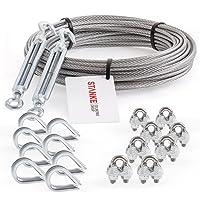 Seilwerk STANKE Cuerda de acero galvanizado 100m, Cuerda