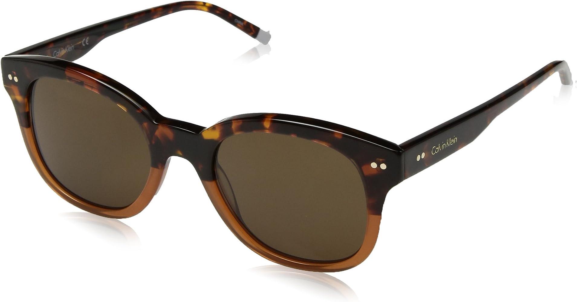 Calvin Klein Para mujer CK4354S-239 Gafas de sol redondas ...