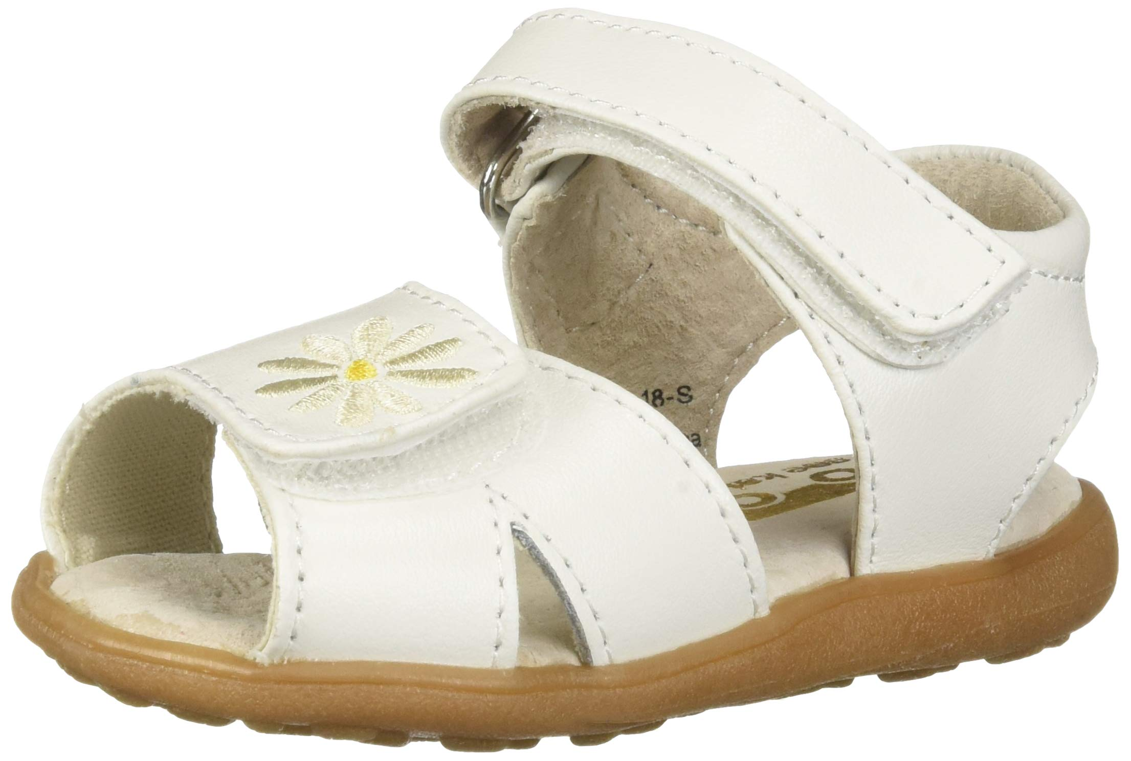 See Kai Run Girls' Olivia II Sandal, White, 4 M US Toddler by See Kai Run