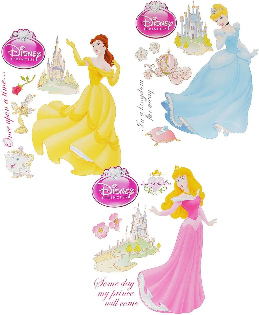 Wandtattoo KUTSCHE Prinzessin Mädchen Wandaufkleber