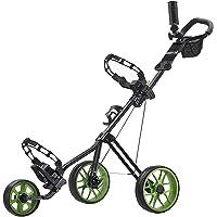 Caddytek Superlite Deluxe Cart-black Poussoir avec Practise Balles de golf et tees de 100pcs Kits