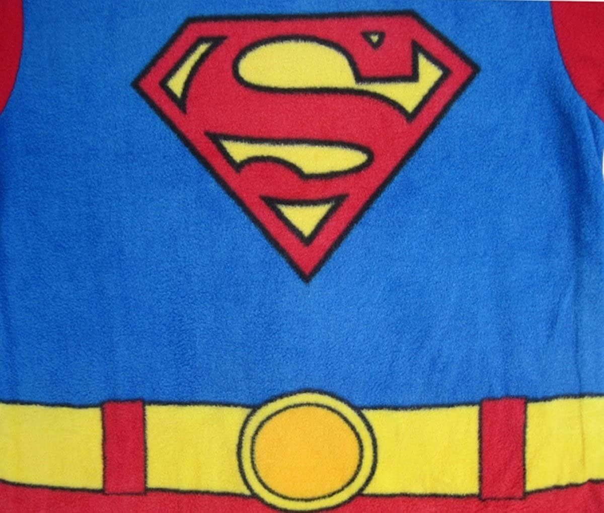 DC Comics Little Boys Supermans Pajama Pant Set. Sizes 2T-4T