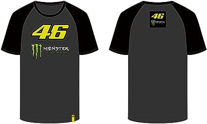 VR46 Camiseta Hombre Valentino Rossi 46 Monster TG. XXL: Amazon ...