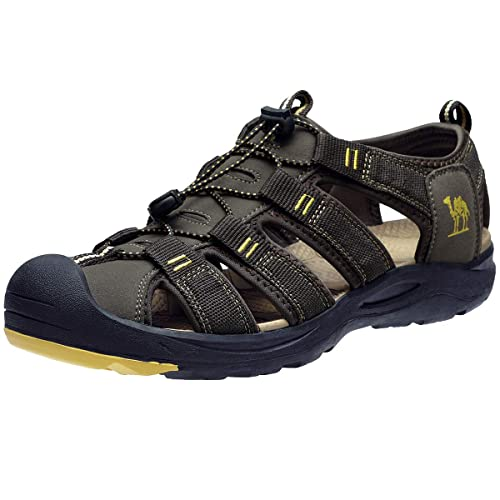 Waterproof Hiking Sandals Closed Toe