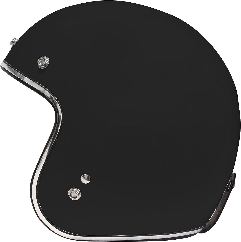 Casco de color negro mate Origine Helmets Primo talla XS
