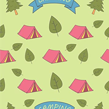 Summer Camping Wallpaper