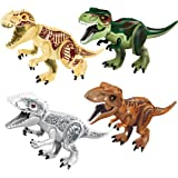Mini Compatible Dinosaur Toy Figures Bricks CZP Tyrannosaurus Rex Building Dinosaur Toys (4PCS)
