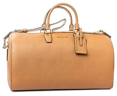 45674eb1591a Michael Kors Jet Set Large Acorn Weekender Luggage Handbag New: Handbags:  Amazon.com