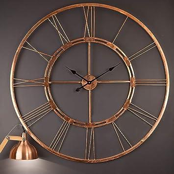 Buy Handmade Large Copper Color Wall Clock Metal Wall Art
