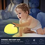 Night Light for Kids, Bassplay Mushroom Nursery