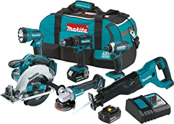 Makita XT610 18-Volt LXT Lithium-Ion Cordless Combo Kit