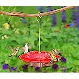 Aspects 367 Hummzinger Ultra Hummingbird Feeder, 12-Ounce,4 Feeding,Red