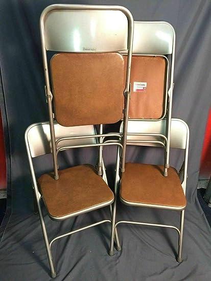 Pleasing Amazon Com Samsonite Padded Folding Chairs Vintage Metal Cjindustries Chair Design For Home Cjindustriesco