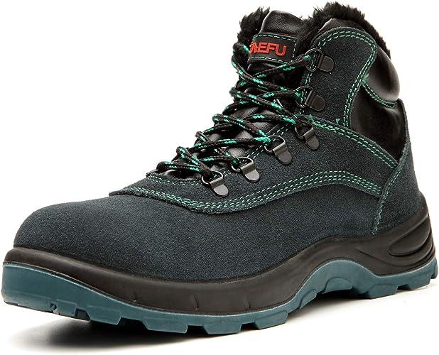Lyoridra Safety Shoes Men Women S3 High
