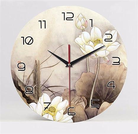 WERLM Diseño personalizado decorativos para el hogar reloj de pared Reloj de pared Reloj de arte ...