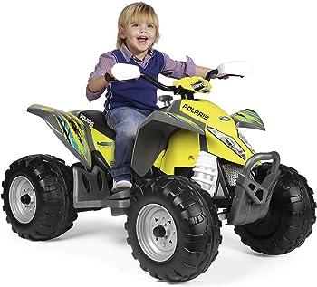 Peg Perego Polaris Outlaw Citrus Kids ATV