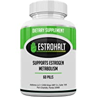 Addrena Estrohalt- Dim Supplement (Diindolylmethane) And Indole-3-Carbinol (I3C) Best Estrogen Blocker For Women & Men | Natural Aromatase Inhibitor Vitamin To Help Pcos, Menopause, And Pms